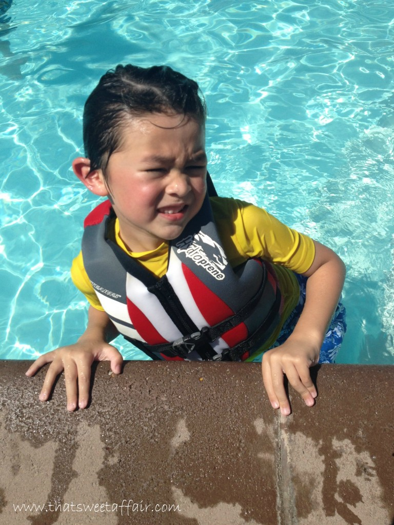 dylan swimming